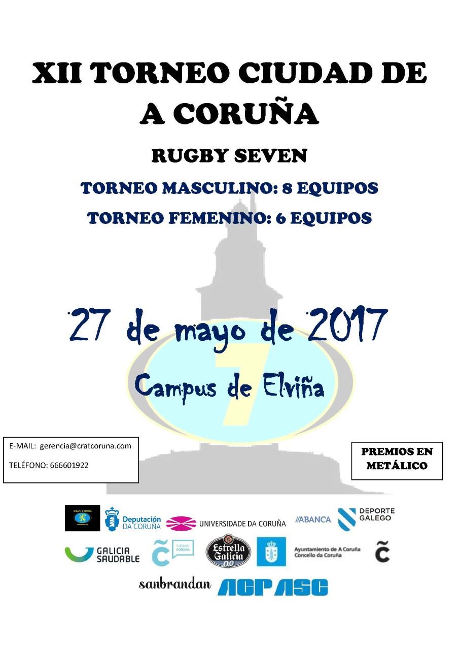 thumbnail_Cartel XII Torneo Ciudad de A Coruña Rugby Seven